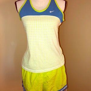 Size medium Nike running shorts set